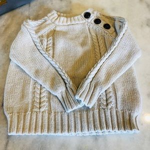 OLD NAVY BABY/TODDLER CABLE KNIT